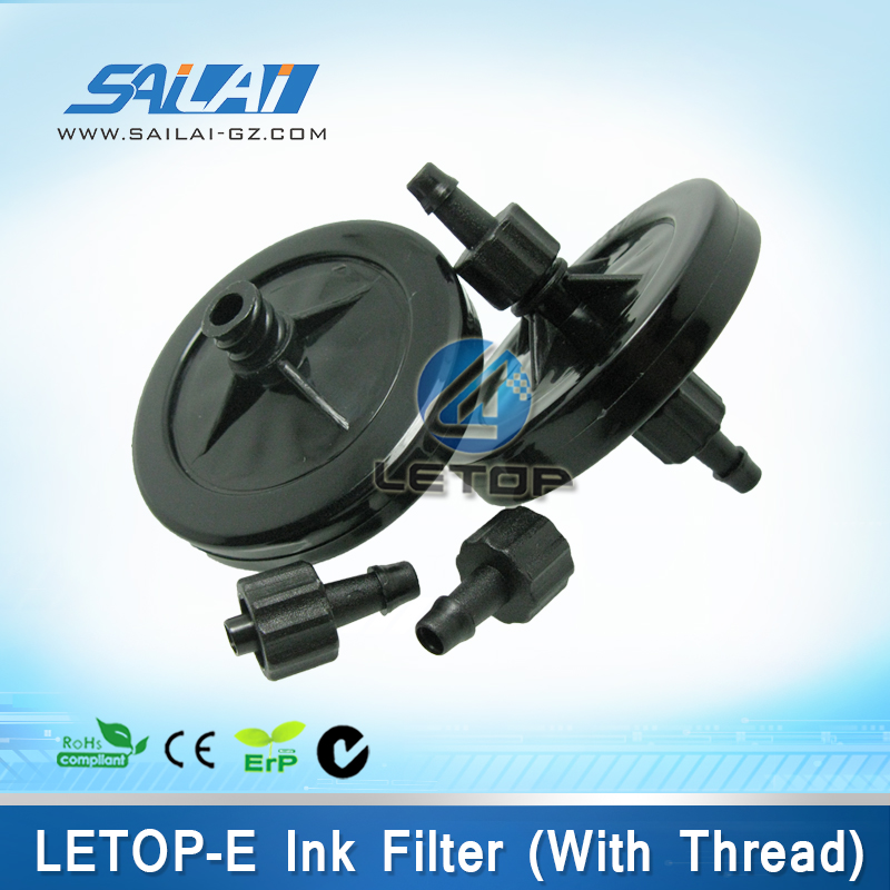 New!!!big uv ink filter with thread dish filter for uv printer