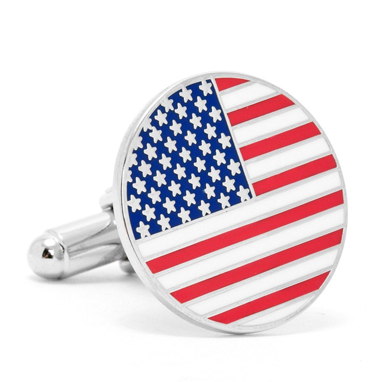 Cufflinks Inc American Flag (PD-USA-SL)