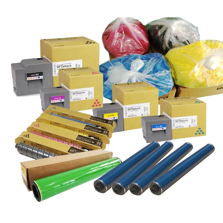 Pièces de rechange d'origine photocopieuse pour ricoh copieur mp c2550/c2500/c5000/c3001/5501/5502/4502/3502//Type 2503/6210