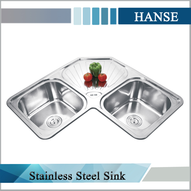 18 Gauge Sink,Hexagon Stainless Steel Royal Kitchen Sink With ...