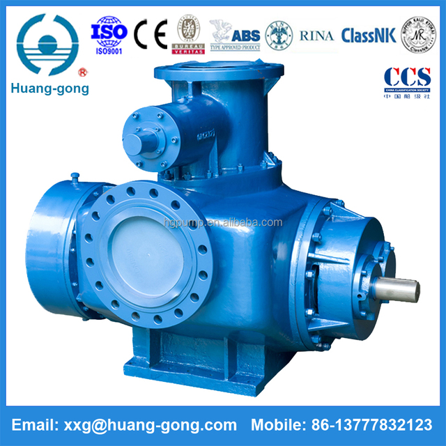 Crude Oil Transfer Pump 2W Series Diesel gasoline Lub oil transfer Double Screw Pump