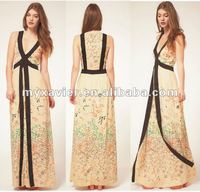 2012 from china,used clothing,Fashion women dress, long maxi dresses,(D1209)