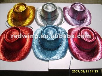 Mexican Colorful Plastic Glitter Cowboy Hat - Buy Purple Cowboy Hat,Cheap  Cowboy Hat,Cowboy Hat Shaping Styles Product on Alibaba com