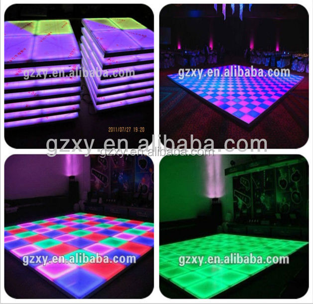 Professional high quality led dance floor material used for wedding/party/events