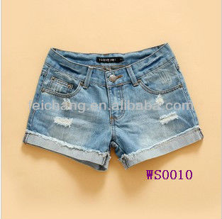 ddf0a0eb5c Denim Shorts, lady jean, latest jeans tops girls, colorful hot high waisted  jean
