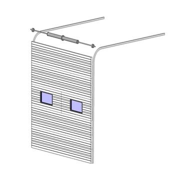 Lift Up Sectional Garage Door Panels Hf J635 Buy Lift Up