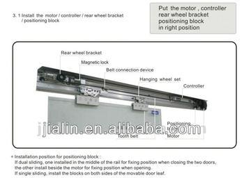 Auto Door Kit Automatic Sliding Door System Sensored
