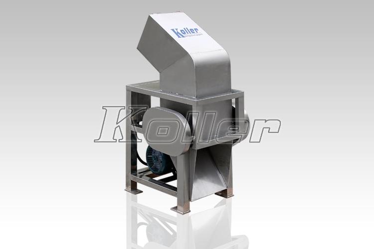 cube crusher machine