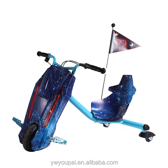 YouPai south africa Kids fitness equipment 3 Wheel Drift Trike Electric Scooter