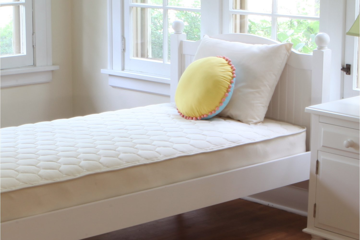 Naturepedic Organic Cotton 1-Sided Quilted Mattress - Full