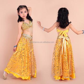 Bestdance Kid Belle Danse Du Ventre Costume Indien Ventre De Danse