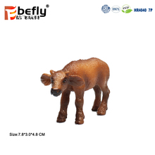 Africa animal buffalo miniature toy plastic figurines for kids 2018