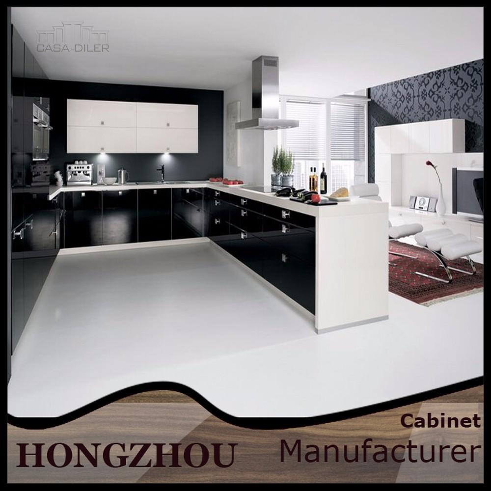 aufgegebenen hochglanz finish moderne k chenschrank. Black Bedroom Furniture Sets. Home Design Ideas
