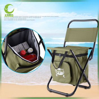 Folding Fishing Chair With Cooler Bag,Backpack Folding Camping Chair With  Cooler Bag For Picnic   Buy Folding Chair With Cooler Bag,Camping Chair  With ...