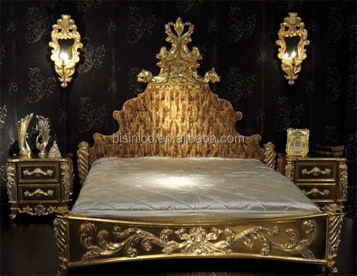 Antique Luxury Louis Style Gold Bedroom Furniture Set  Outstanding Royal  Gold Plated Bedroom SetAntique Luxury Louis Style Gold Bedroom Furniture Set Outstanding  . Louis Style Bedroom Furniture. Home Design Ideas
