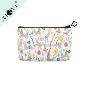 Wholesale customized makeup organizer bag small cute eco beauty women sublimation cosmetic bag