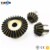Design and process durable industrial gear and crown pinion rack for wheel loader