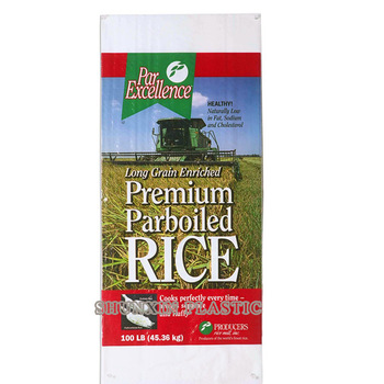 Customized new design foil laminated printing basmati rice bag 10kg export to Egypt Pakistan Thailand
