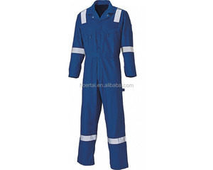 100% Cotton Man And Women Safety Work Uniform Coverall