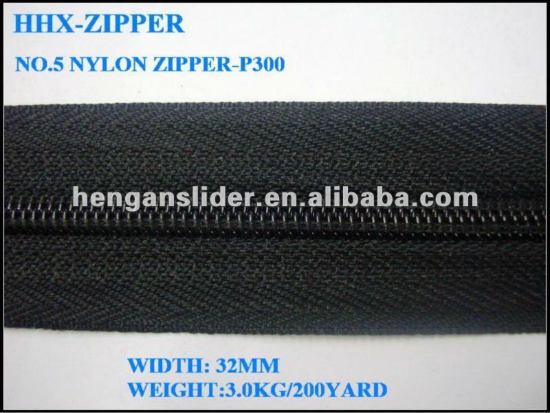 Nylon Zipper #5.quality control in garment industry