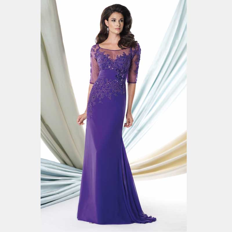 Mother Of The Bride Outfits 2016: Mother Of The Bride Chiffon A Line Floor Length Dresses