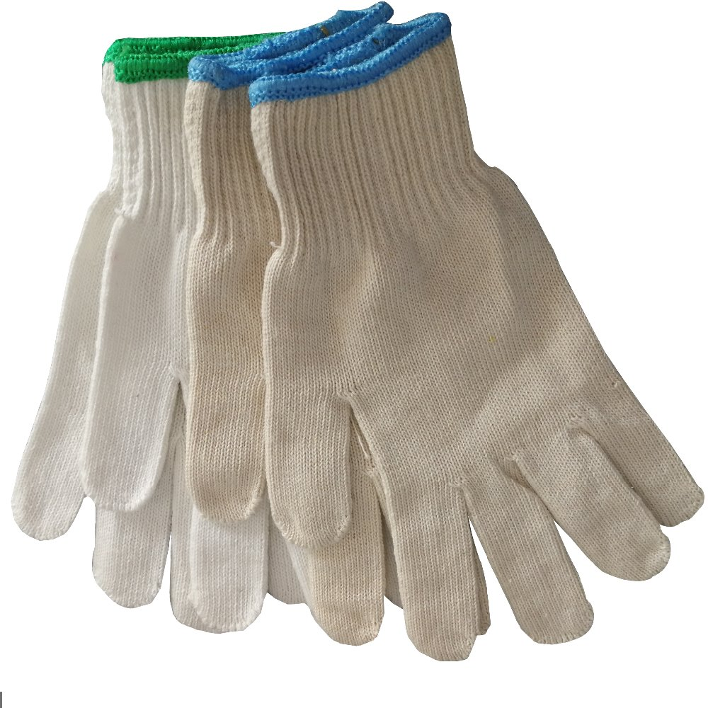 Hot selling Cotton Knitted Gloves Economy Work Gloves