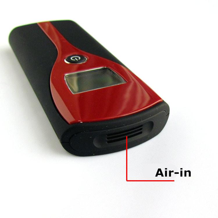 Цифровой алкогольные алкоголя в выдыхаемом воздухе тестер метр анализатор звуковой сигнал портативный алкотестер с дыхательных путей