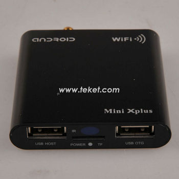 Android 4.0 Intelligente Android-TV-Box mit HDM-I H24, Andrio Mini-PC