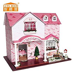 Get Quotations Fashion Educational Toys Diy House Model Halloween Thanksgiving Christmas Birthday Gift For Kids And Friendsdiy Cabin