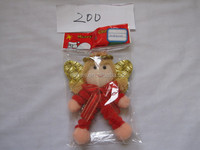 promotional angel toy cute christmas angel doll