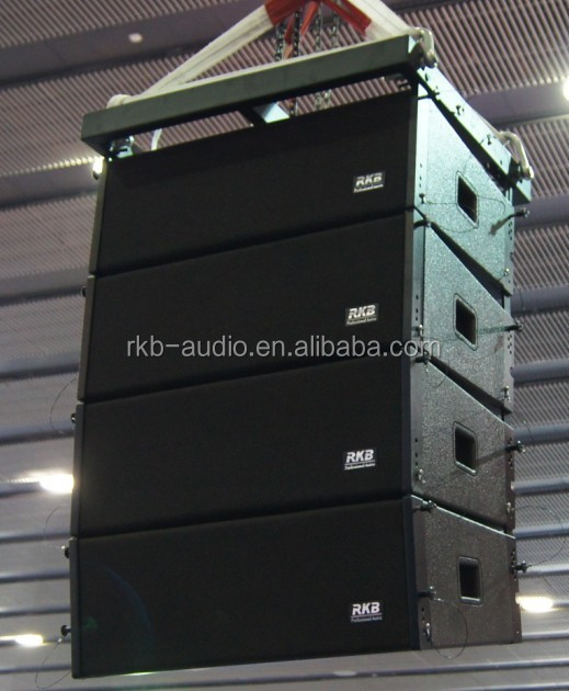 LA-208 outdoor daul 8 inch box speaker line array