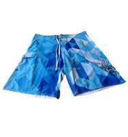 Top Brand Anti-Wrinkle Cargo Pockets Mens Extra Long Board Shorts