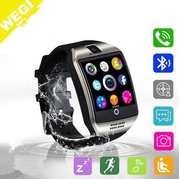 Newest smart watch q18 Blueoth Smart Watch With SIM Card Slot For Apple Samsung IOS Android Cell phone 1.56 inch smartwatch