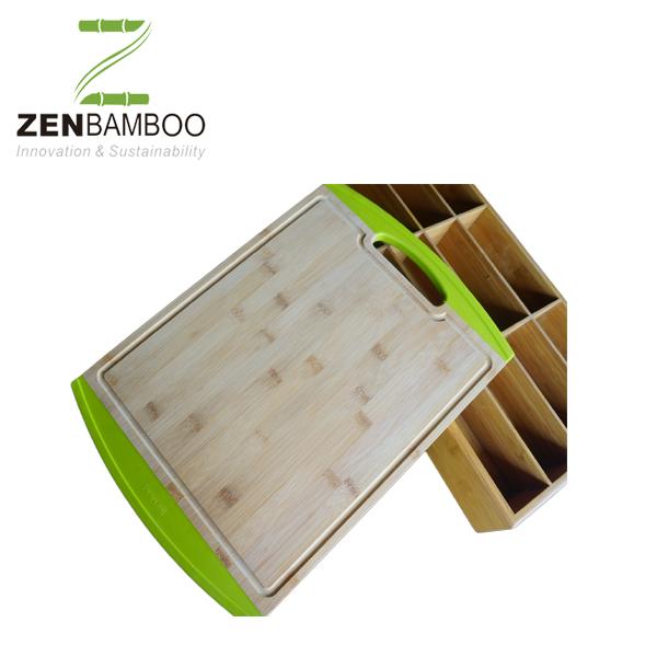 Fda Certificate Bamboo Cutting Board With Silicone - Buy Bamboo Cutting  Board With Silicone,Bamboo Cutting Board With Silicone,Bamboo Cutting Board