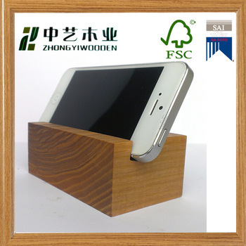 Fsc Unfinished Handmade Custom Cheap Wooden Desktop Cell
