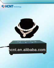 advertsing magnetic rotating jewelry display stand