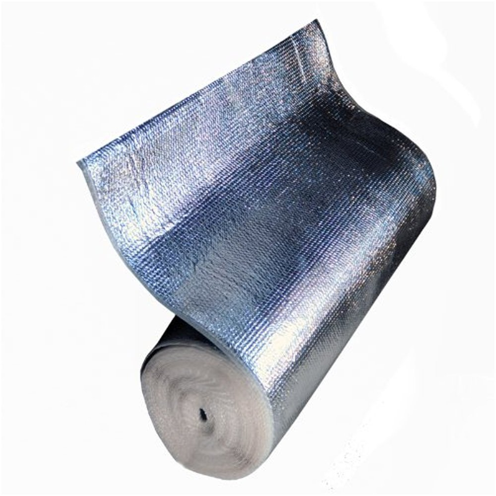 Nasa Tech Pro Ir Infrared Grow Room Blocker Thermal Radiant Barrier Foam Core Heat Block Shield Reflector 48 Inches X 20 Feet Made In Usa