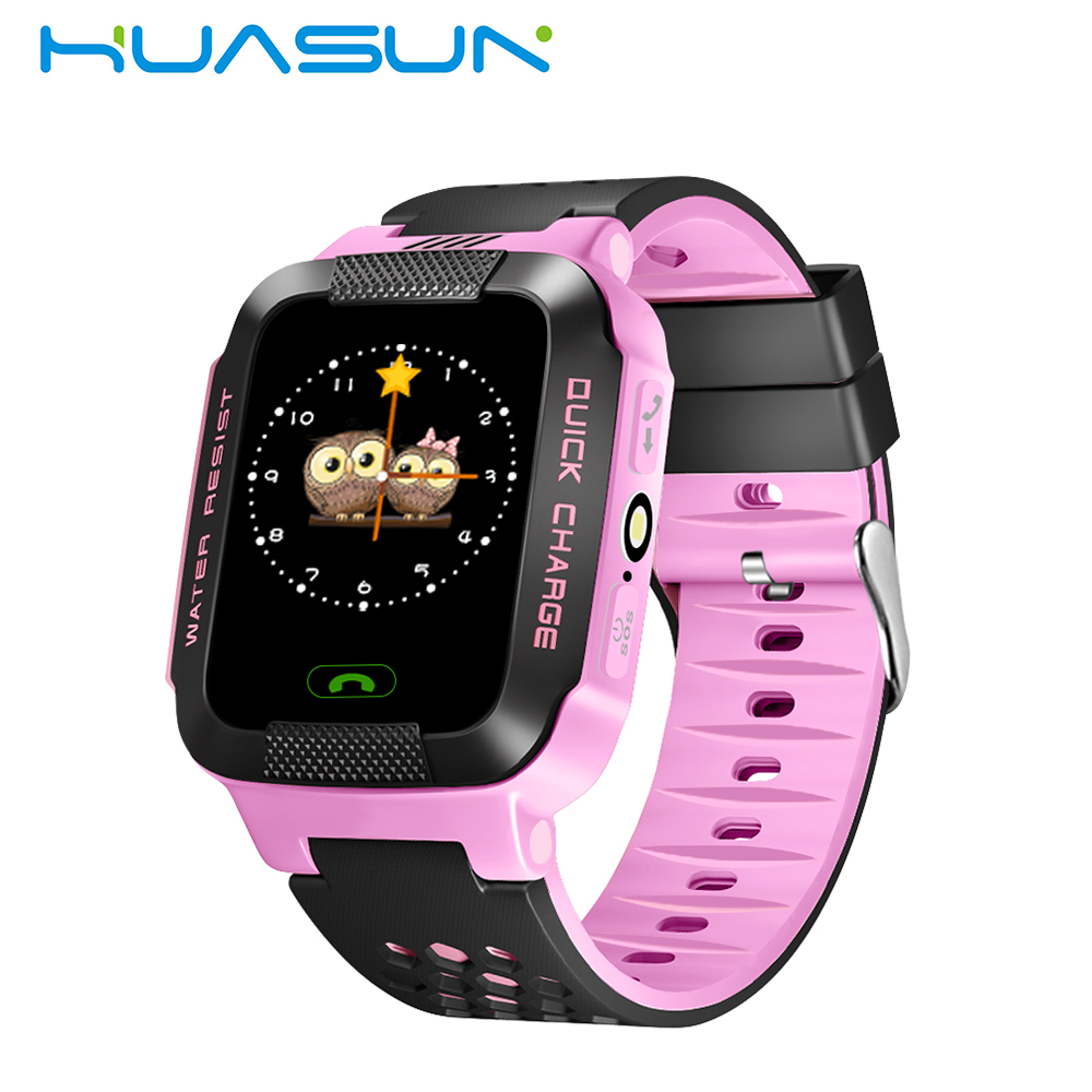 Latest Electronic Watches GPS Tracker Watch Kids Dial/Answer Phone Calls Watch GPS Tracker