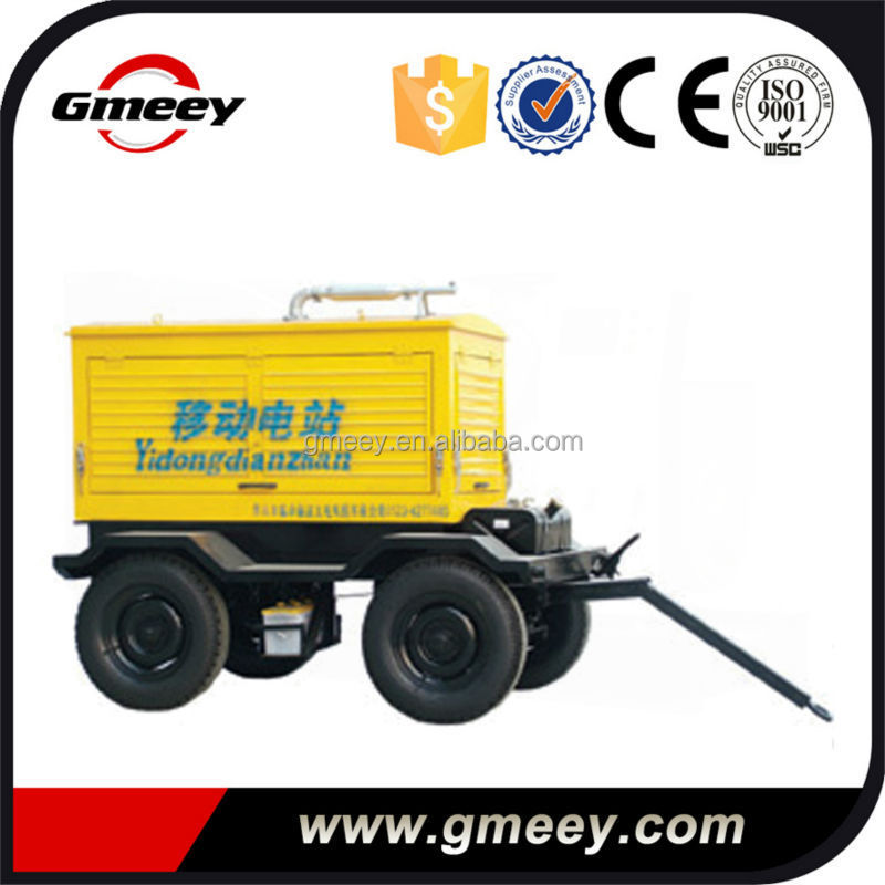 Gmeey standby power volvo 275kva 220kw mobile electric generator
