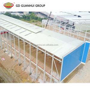 Portal frame demountable light metal steel structure workshop