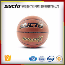 Wholesale official size and weight match outdoor PU basketballs