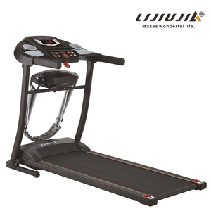 Foldable cheap fitness treadmill with calorie and speakers and distancea and pulse,usb