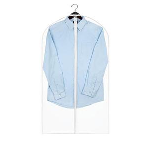 Clear Garment Bag Pockets