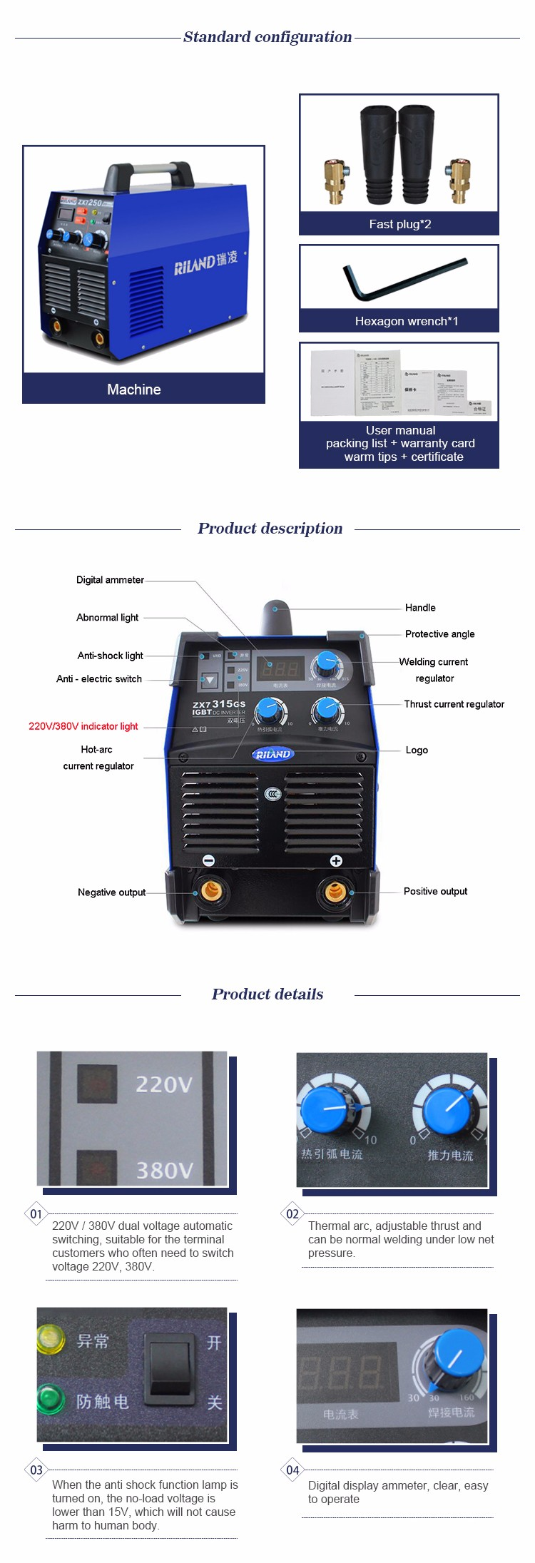 Electric Portable Mini Inverter Arc Welding Machine View Diagram