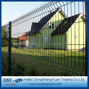 Direct Factory Supply 3 Folds Welded Wire Mesh Fence With Ral 6005 ...