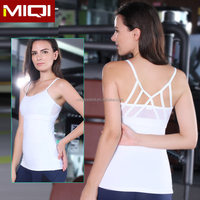 Custom Workout Clothing Wholesale Racerback Yoga Top High Quality Ladies Tank Tops