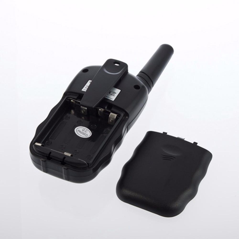 Т-388 2 шт. двойной черный регулируемая мини портативный многоканальный 2-полосных жк 5 км UHF авто VOX радио беспроводной путешествия рация