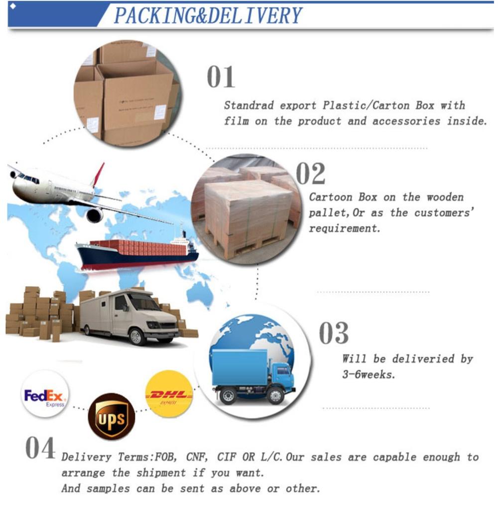 shipping of LED flood light