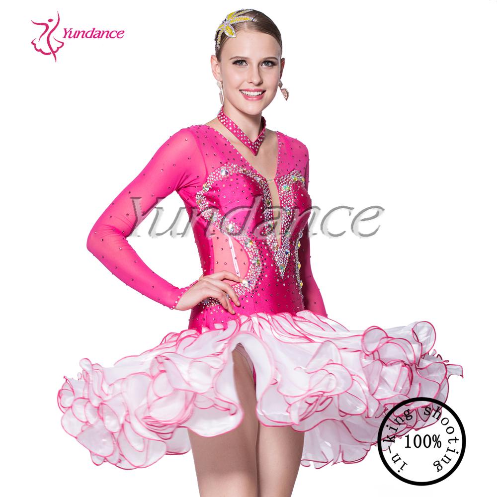 L-14113 Más Nuevo Diseño Salsa Danza Vestidos - Buy Product on ...