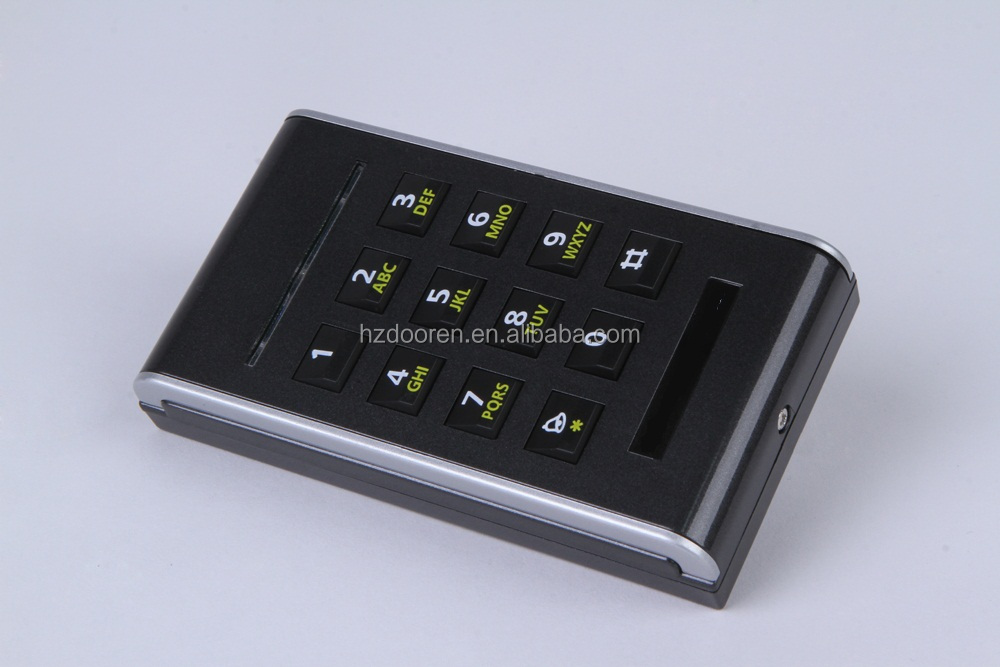 access control reader for automatic door
